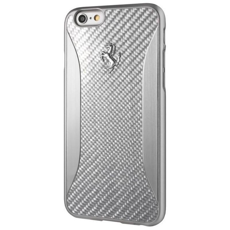 Ferrari Protective Cover for iPhone 7 Plus , Silver , FERCHCP7LSI