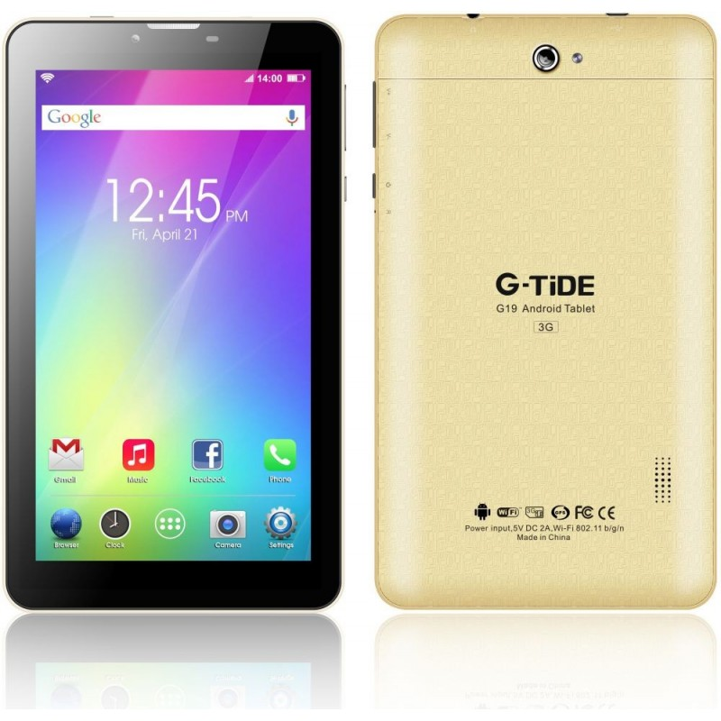 G-TiDE G19 Tablet , 7 Inch touch Screen , 8GB , 3G , Gold